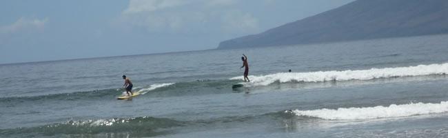 Maui サーフィン