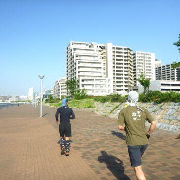 神戸を走ろう!「ゴールデンタイムでランニング&フィットネス」走ってきました!
