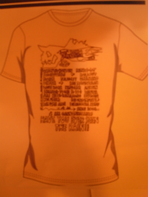 New キャノンボールTシャツ